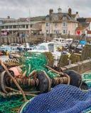 Westbay hamn Fotografering för Bildbyråer