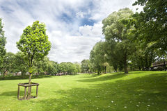 Westbourne Green park Royalty Free Stock Photography