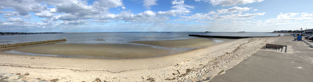 Westbrook Beach Panorama Stock Photos
