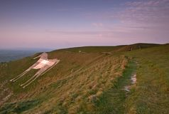 Westbury White Horse Stock Image