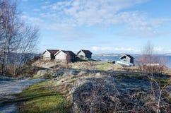 Westcoast στη Σουηδία Στοκ Εικόνες