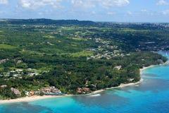 westcoast Барбадосских островов Стоковое фото RF