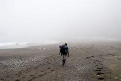 westcoast тропки hiker Стоковые Изображения RF