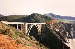 Westcoast, California. Bridge in westcoast, California. Beautiful Stock Image