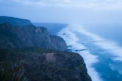 Westcoast Cliffs Royalty Free Stock Photography