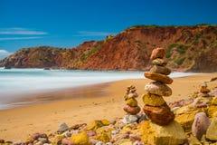 Westcoast de Portugal fotografía de archivo libre de regalías