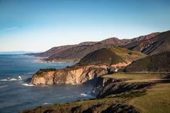 Westcoast op weg nummer 1 in Californië, de V.S. royalty-vrije stock afbeelding