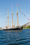 Westcoast sail ship Zdjęcia Royalty Free