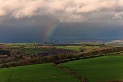 Westcombe Regenbogen stockbilder