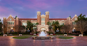 Westcott Plaza at Florida State Stock Photo