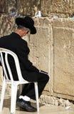 Westelijk de Muurgebed van Jeruzalem Stock Foto