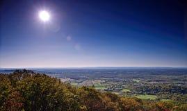 Westelijk landelijk het landschapspanorama van Maryland Stock Foto's