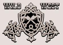 Westelijk patroon vector illustratie