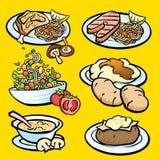 Westelijk voedsel Stock Foto
