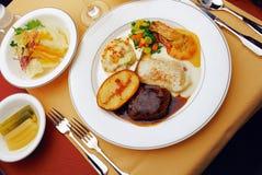 Westelijk Voedsel Royalty-vrije Stock Foto