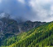 Westelijke Bergen Tatra Royalty-vrije Stock Afbeeldingen