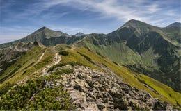 Westelijke Bergen Tatra Stock Afbeeldingen