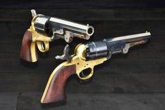 Westelijke Cowboy Pistols Royalty-vrije Stock Foto's