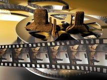 Westelijke film Royalty-vrije Stock Fotografie