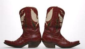 Westelijke Laarzen Stock Foto