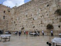 Westelijke muur stock foto's