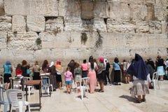 Westelijke Muur in Jeruzalem Royalty-vrije Stock Afbeeldingen