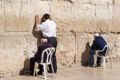Westelijke muur in Jeruzalem Stock Fotografie