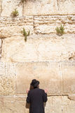 Westelijke muur in Jeruzalem Stock Foto