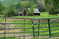 Westelijke NC-boerderij Royalty-vrije Stock Afbeeldingen