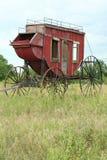 Westelijke Stagecoach stock afbeelding