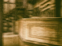 Westelijke uitstekende zaal geweven abstractie Royalty-vrije Stock Foto