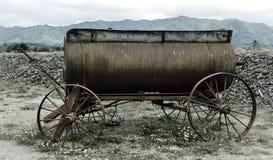 Westelijke wagen royalty-vrije stock afbeeldingen