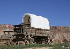Westelijke wagen stock fotografie