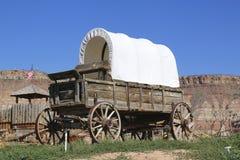 Westelijke wagen royalty-vrije stock foto's