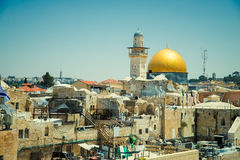 Wester Walll  in Jerusalem Stock Image