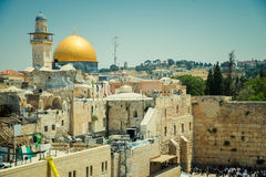 Wester Walll  in Jerusalem Royalty Free Stock Photos