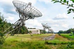 Westerbork Synthese radio Telescoop zdjęcie royalty free