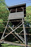Westerbork Transit Camp Grounds: Watchtower Stock Images