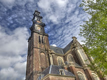 Westerchurch Amsterdam Stock Photo