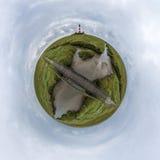 Westerhever-Leuchtturm Lizenzfreies Stockbild