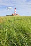 Westerhever Lighthouse Stock Photo