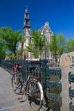 Westerkerk. A photo of famous westerkerk in amsterdam Royalty Free Stock Images