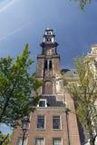 Westerkerk 免版税库存照片
