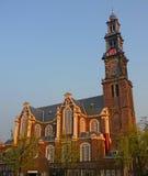 Westerkerk Amsterdam Stock Photo