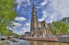Westerkerk in Amsterdam Royalty Free Stock Photos