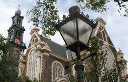 Westerkerk in Amsterdam in Amsterdam Stock Photos
