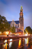 Westerkerk Church, Amsterdam Royalty Free Stock Images