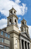 Westerkerk church in Amsterdam on a sunny day. Royalty Free Stock Photos