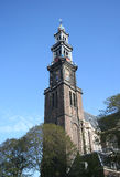 Westerkerk Churchtower Amsterdam Royalty Free Stock Image