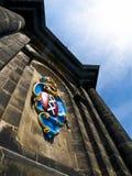 westerkerk för lag för amsterdam armar kyrklig Arkivbild
